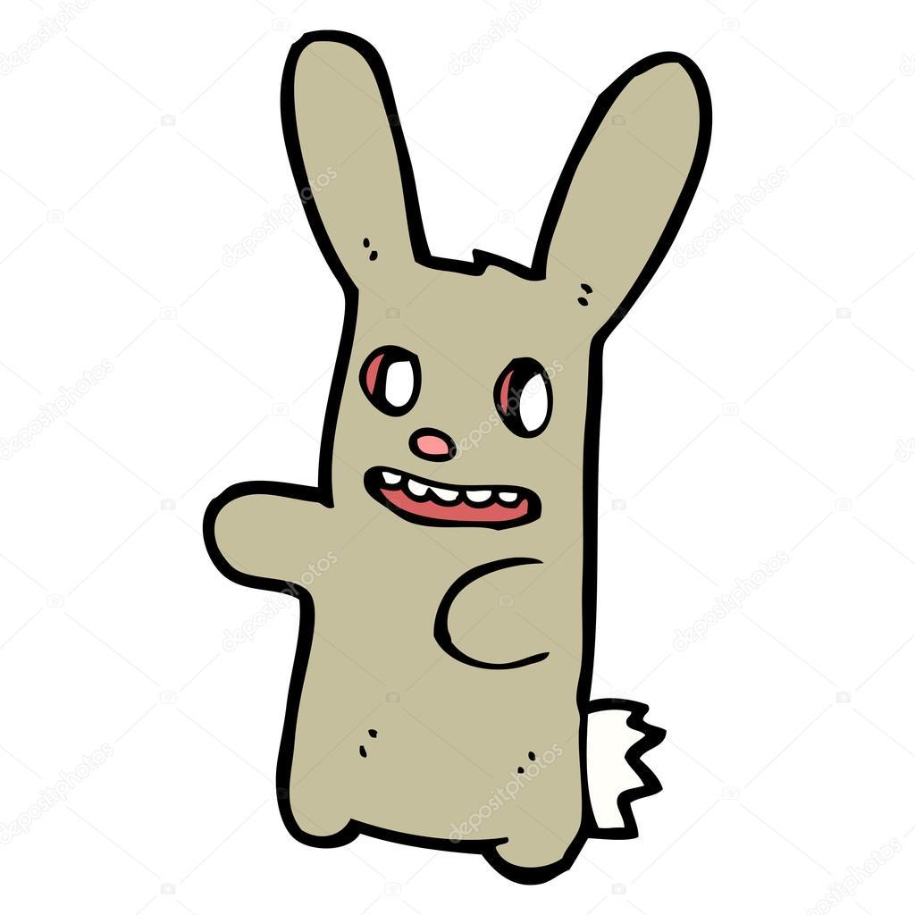 Scary clipart bunny #12