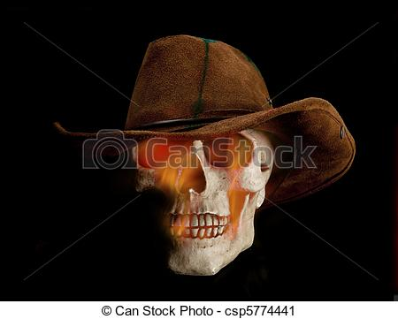 Scary clipart cowboy #2