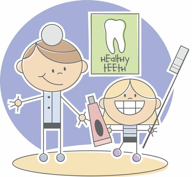 Teeth clipart pediatric dentistry Dentist clipart visit Scary visit