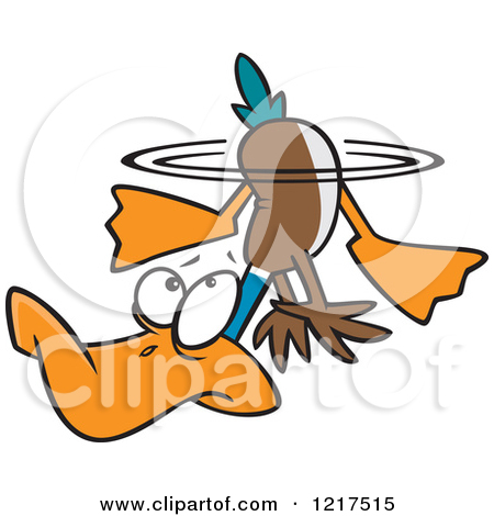 Scary clipart duck #11