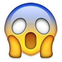 Scary clipart emoji #6