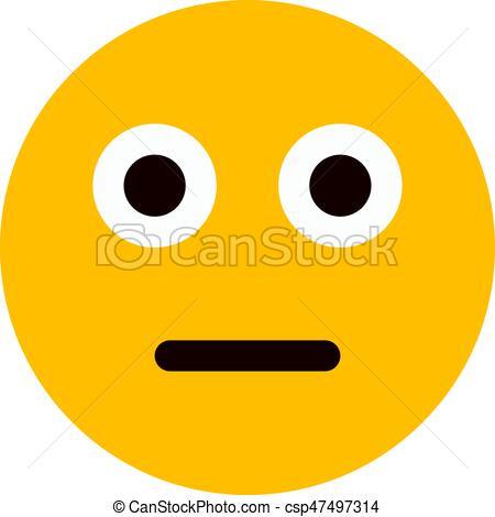 Scary clipart emoji #7