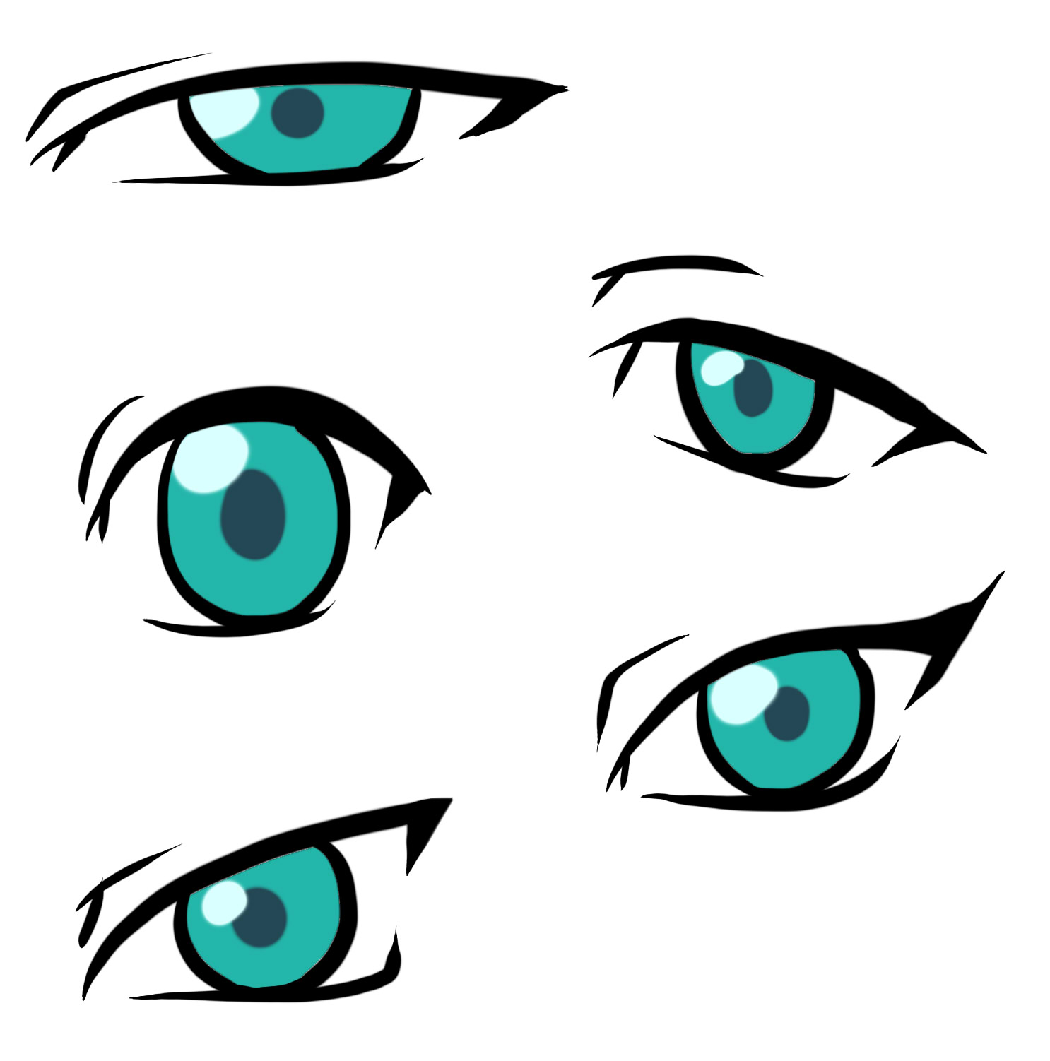Scary clipart scared eye #15