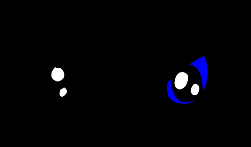 Scary clipart scared eye #13