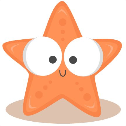Scary clipart starfish #10