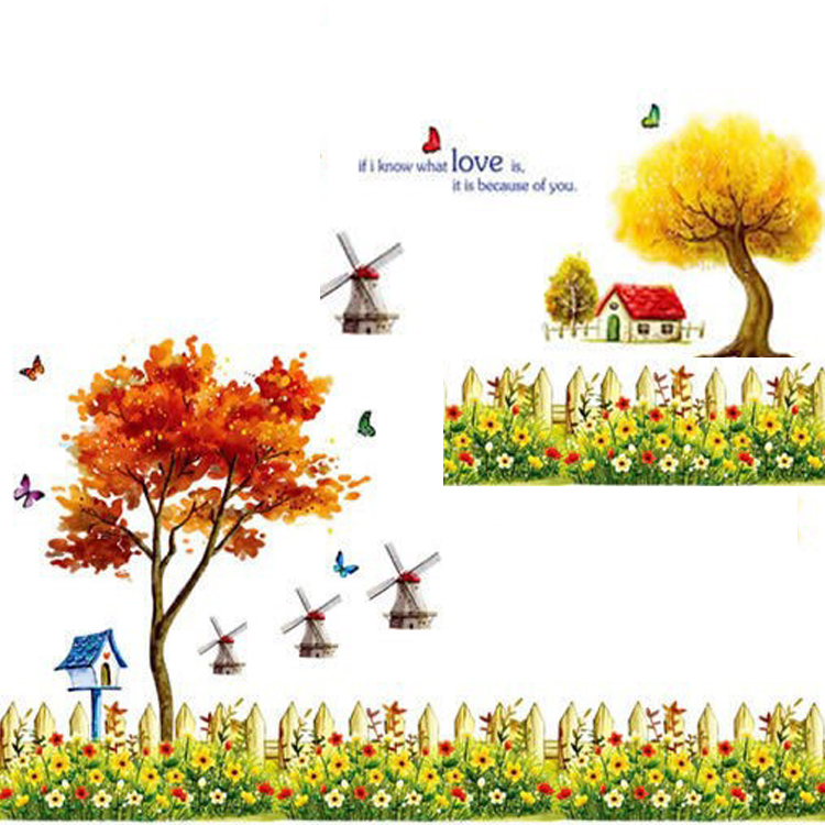 Scenery clipart beautiful house #7