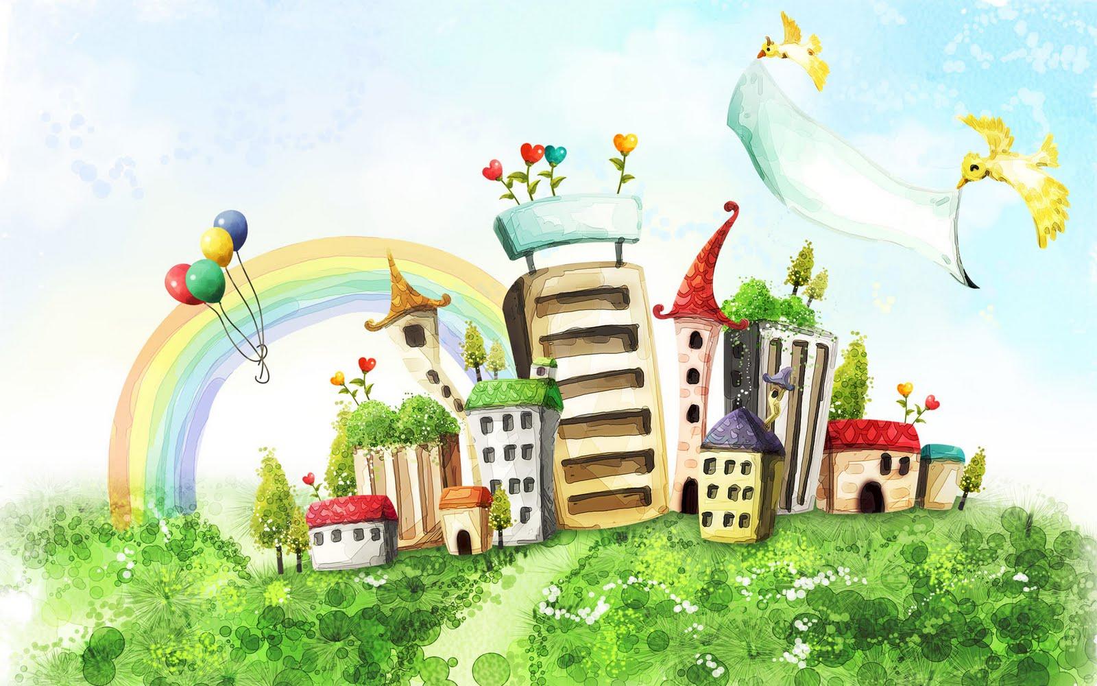 Scenery clipart dream #10
