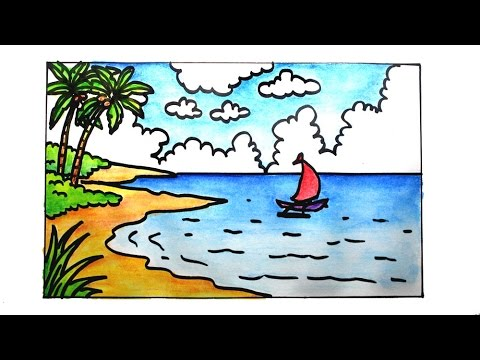 Scenery clipart easy #11