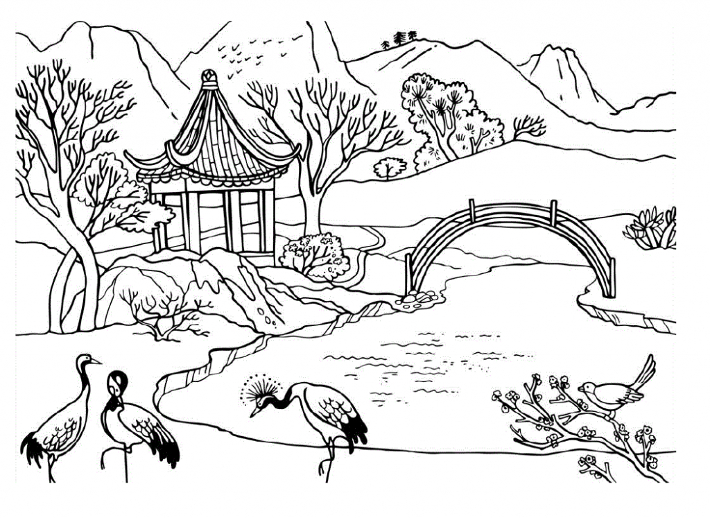 Scenery clipart easy #10