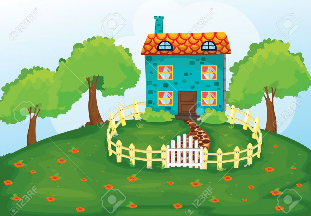 Scenery clipart easy #8