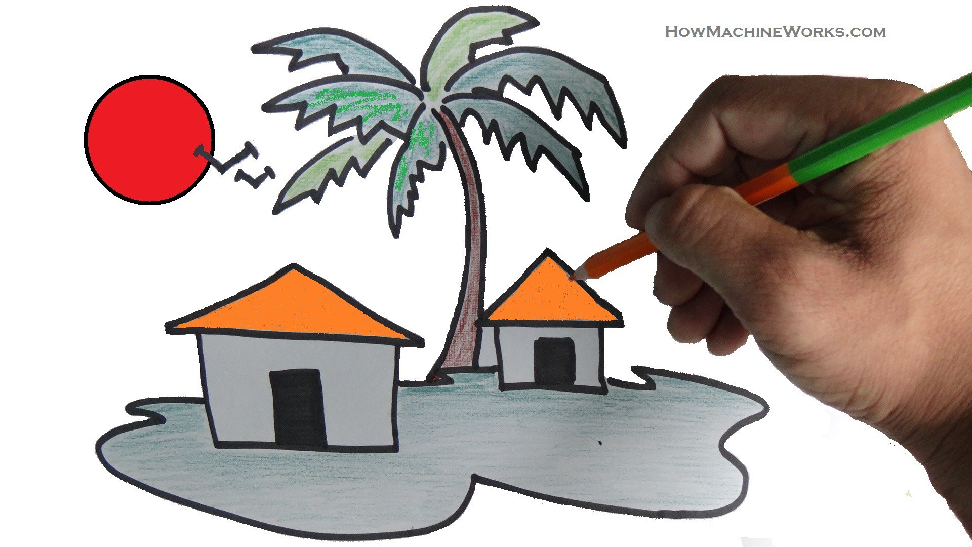 Scenery clipart easy #7