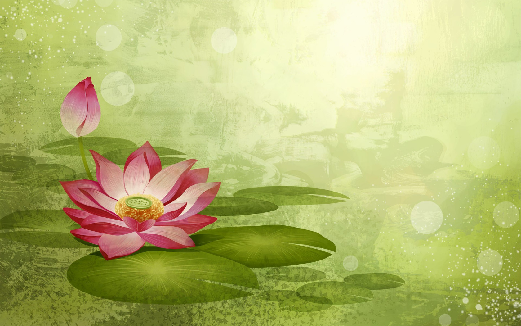 Scenery clipart lotus flower #10
