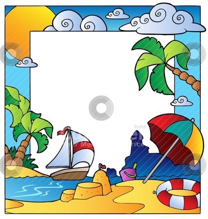 Scenery clipart ocean theme #13