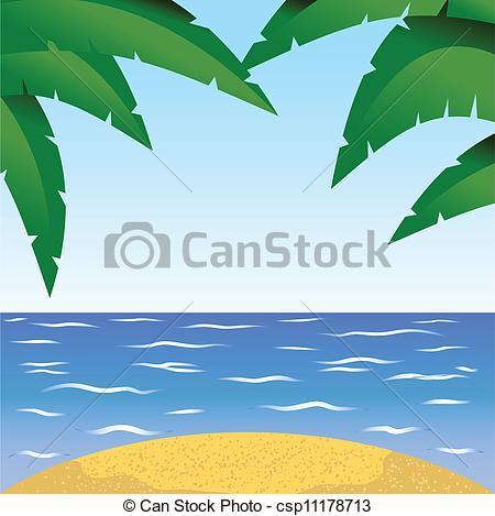 Scenery clipart seaside #8