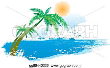 Scenery clipart seaside #9