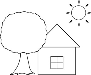 Scenery clipart simple #10