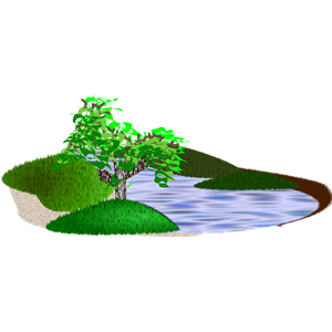 Scenery clipart simple #9