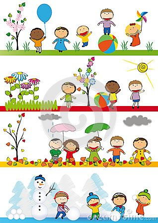 Scenery clipart spring weather #12
