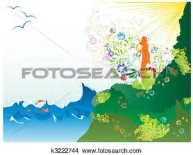 Scenery clipart summer scenery #7