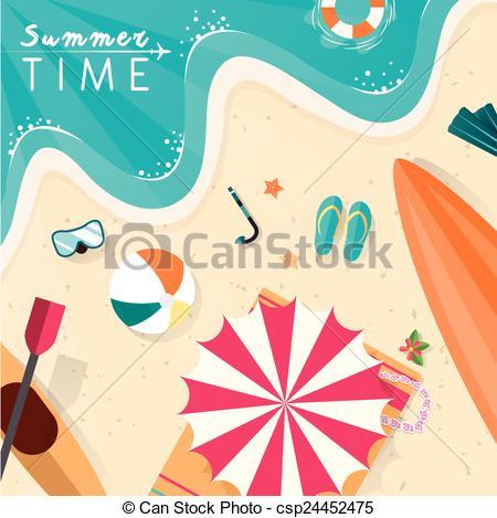 Scenery clipart summer scenery #9