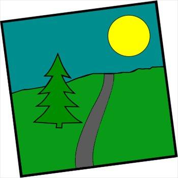 Scenic clipart #6