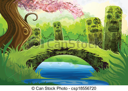 Scenery clipart easy #3