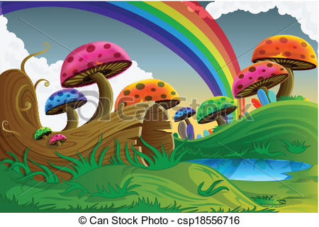 Scenery clipart easy #2