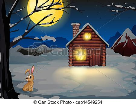 Outside clipart scenery Clipart the house outside A