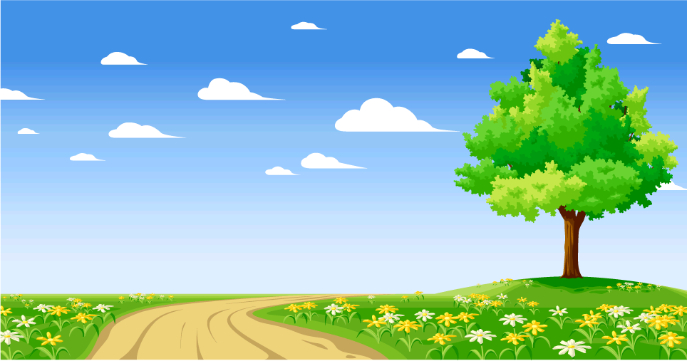 Scenery clipart simple #4