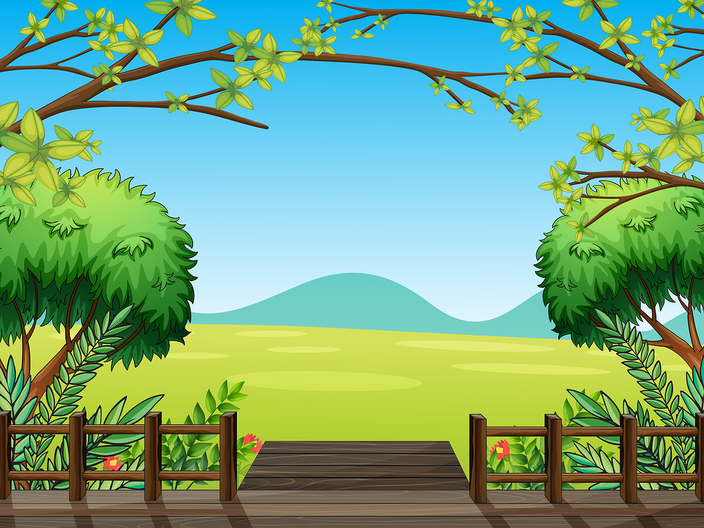 Nature clipart backround #5