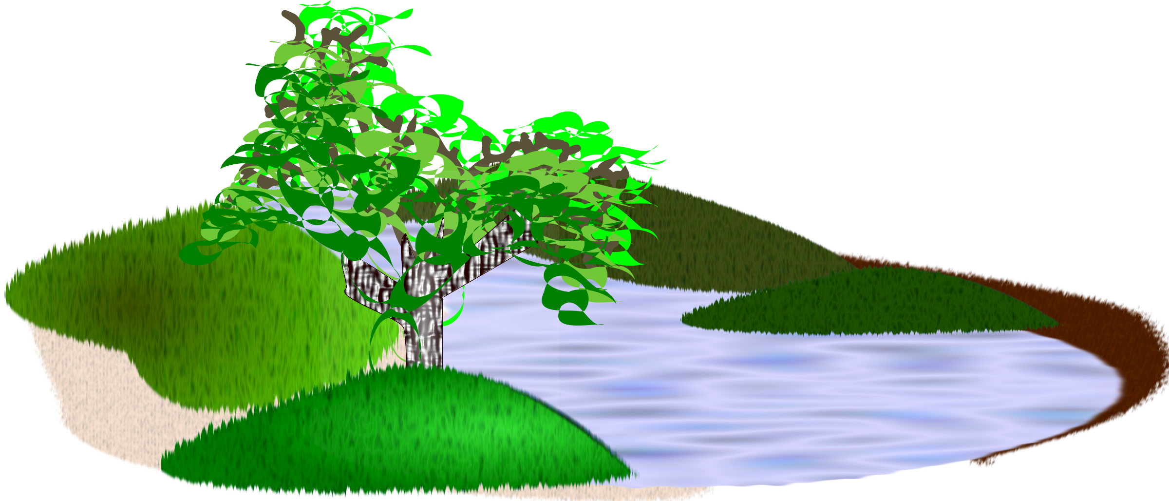 Scenery clipart nature park #2