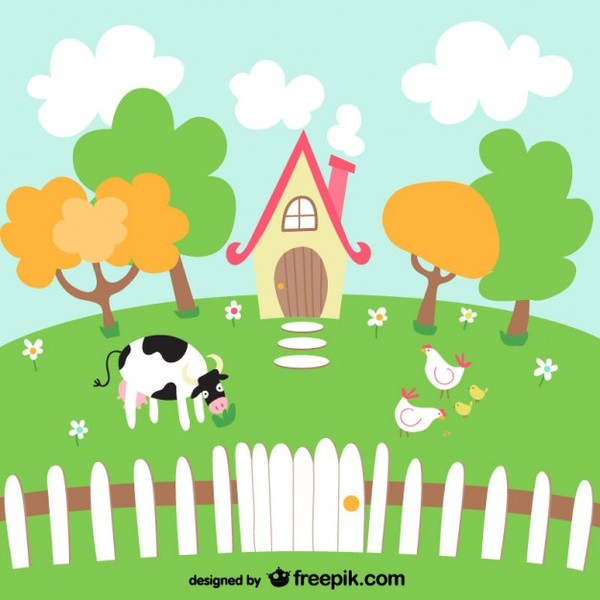 Scenery clipart easy #5
