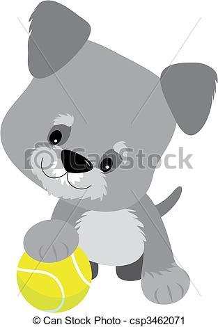Schnauzer clipart cute #7