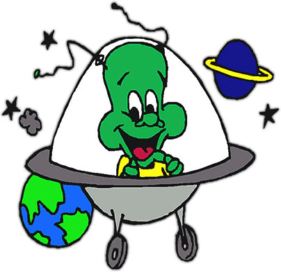 Moving clipart scientist #7