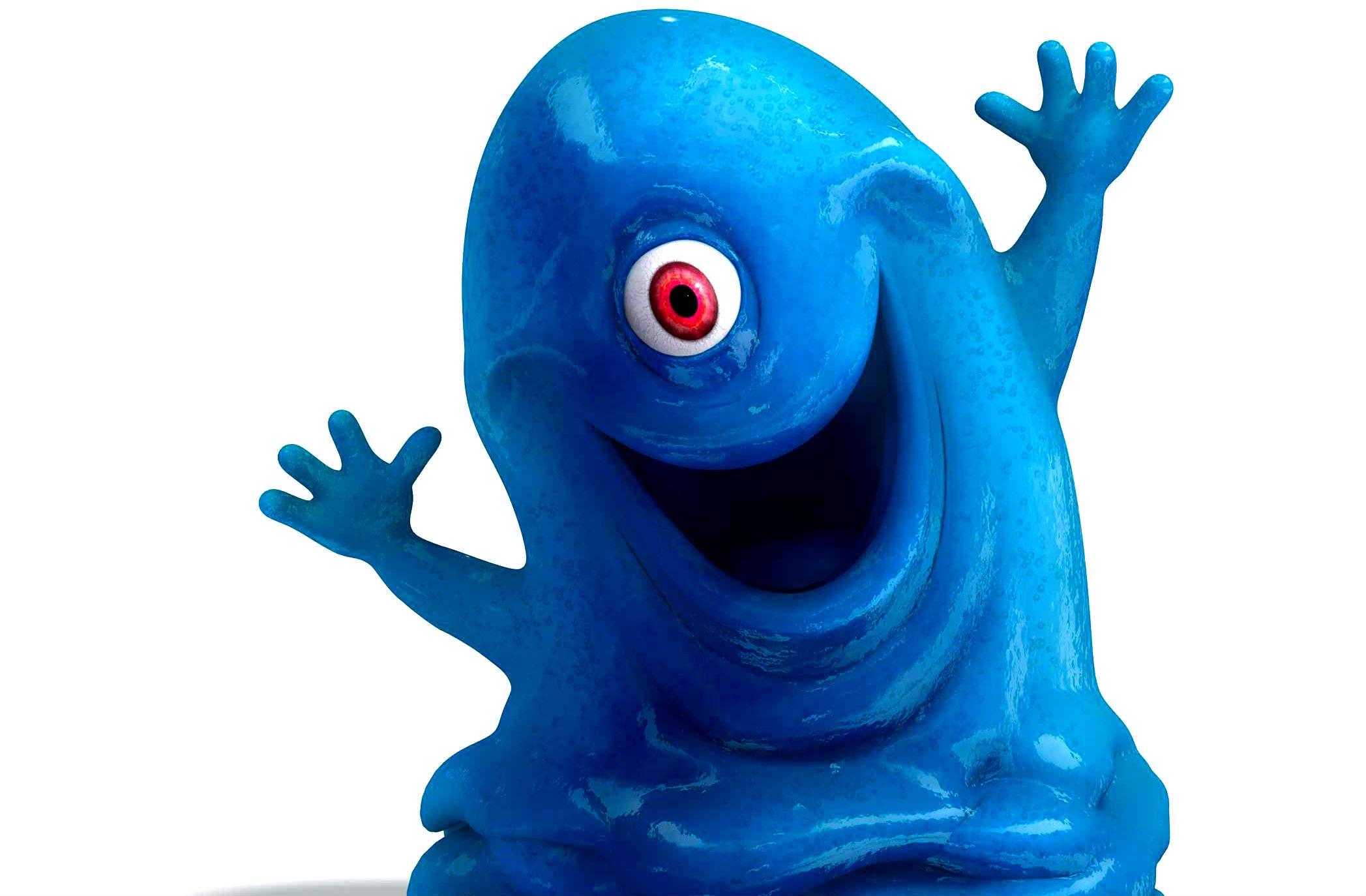 Sci Fi clipart blue alien #4