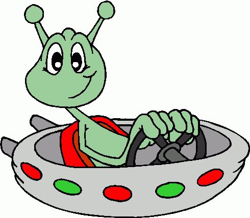 Alien clipart science fiction Clip fiction  Science Free