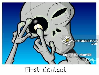 Sci Fi clipart funny alien #12