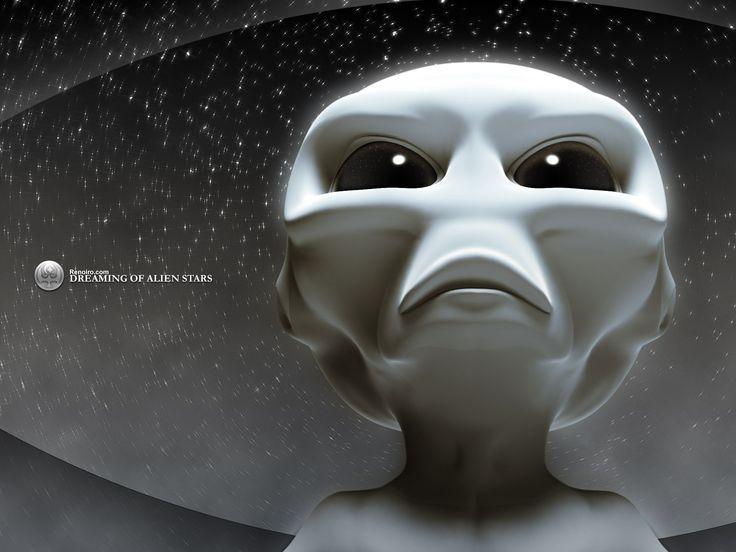 Sci Fi clipart grey alien #5