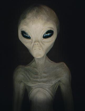 Sci Fi clipart grey alien #2