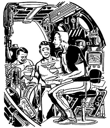 Sci Fi clipart space man #15