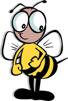 Science clipart bee #6