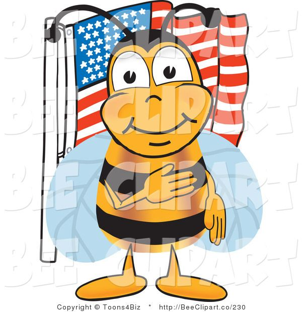 Science clipart bee #10