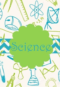 Science clipart binder Science Cover  Designs Royal