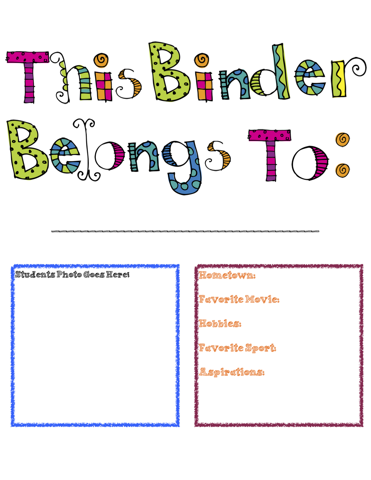 Science clipart binder Cover Binder Course Investigators Chemistry