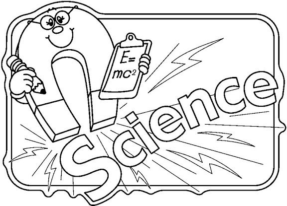 Science clipart black and white Clipart and White Science Science