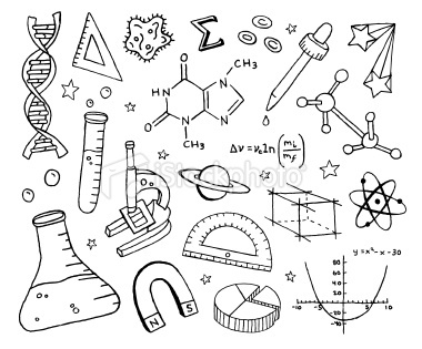 Science clipart doodle #9
