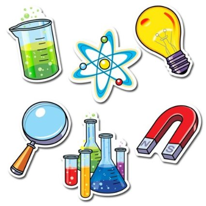 Science clipart elementary science – Set Cut Designer and