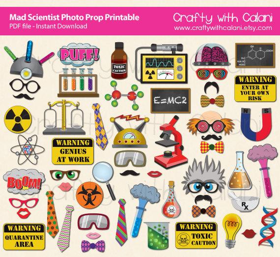 Toxic clipart science Printable Etsy Prop Prop Scientist