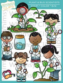 Science clipart kid plant #11