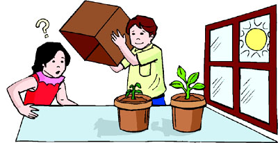 Science clipart kid plant #13